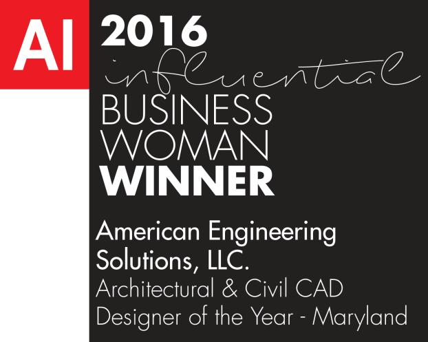 American Engineering Solutions-Business woman of the year award